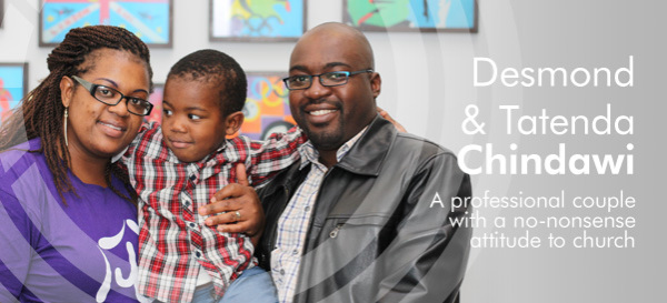 Desmond and Tatenda Chindawi - Harvest City Church Leicester