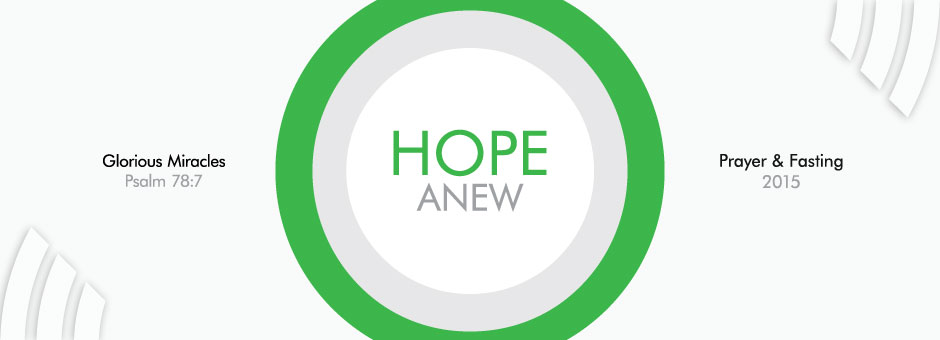 Hope Anew - Harvest City Church Leicester