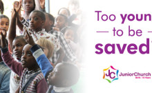 Too young to be saved? - Harvest City Church Leicester