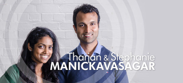 Tharjan and Stephanie Manickavasagar – Harvest City Church Leicester