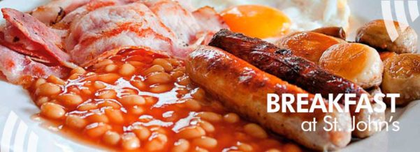 Breakfast after service – Harvest City Church Leicester