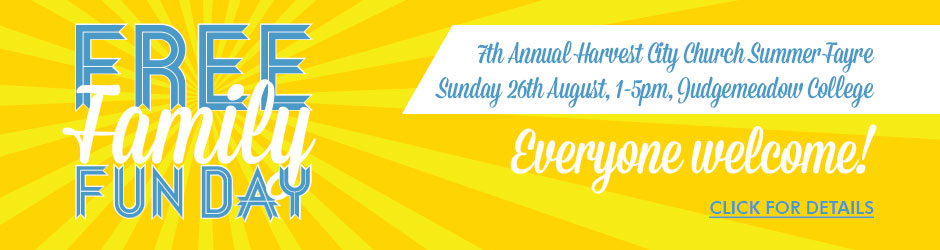 Free Family Fun Day – Summer Fayre – Harvest City Church Leicester