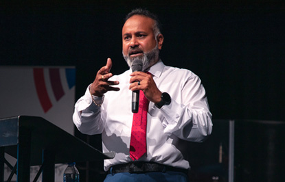 Pastor Chip Kawalsingh – Harvest City Church Leicester