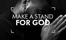 Make a Stand for God – Chip Kawalsingh – Harvest City Church Leicester